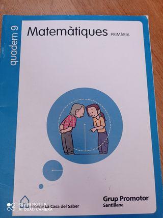 libro escolar primaria matemáticas.
