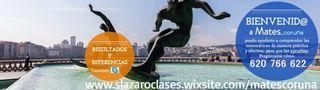 CLASES PARTICULARES MATEMÁTICAS / INGLÉS