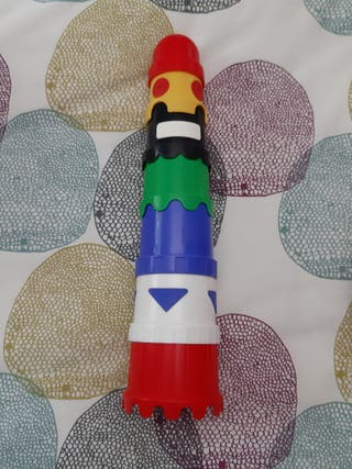 torre de cubos del ikea
