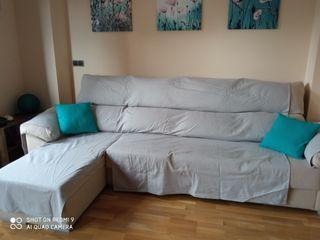 cubre sofá para chaise long