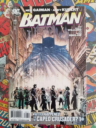 Batman nº 686 Neil Gaiman USA original