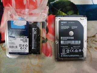 DISCO DURO 1TB + RAM DDR4 2400 ORIGINAL APPLE IMAC