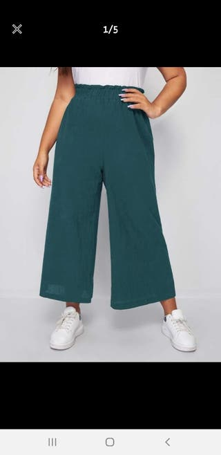 pantalon pierna ancha