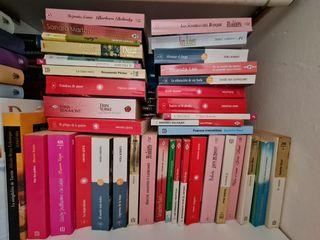 Colección 120 libros novela romántica