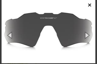 lente original oakley radar ev Prizm Road Black