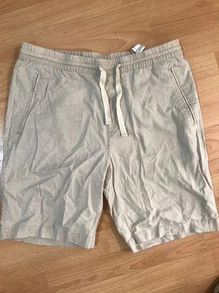 Pantalón corto lino Zara 2020 bermudas