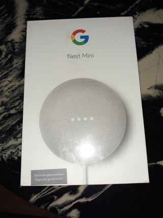 Google Nest Mini (Asistente de google)