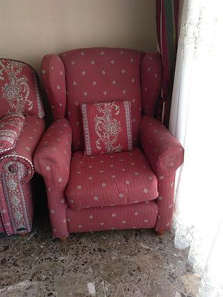 sofá dos plazas + dos sillones