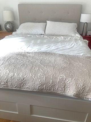 Cabecero y estructura de cama 1,60cm