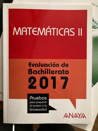 Libro matemáticas 2 bachillerato