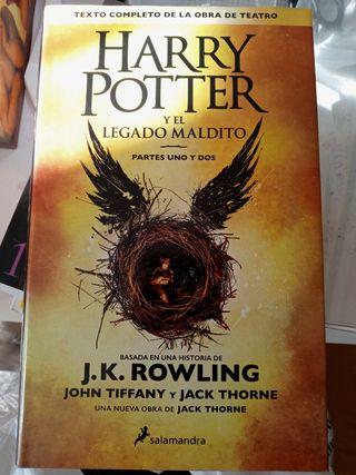 Libro Harry Potter El legado maldito