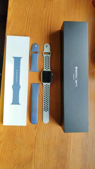 Apple Watch Series 3 Plata Nike Edition