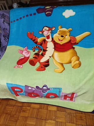manta cobertor cama 90 Pooh