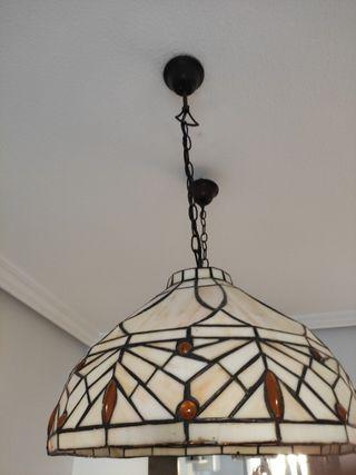 Lámpara grande billar Tiffany