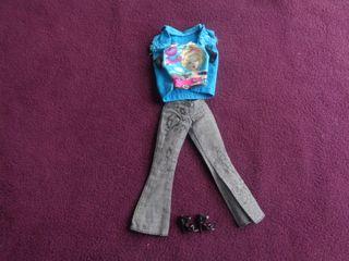 Conjunto ropa Barbie