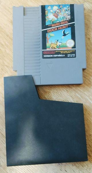 Juego Super Mario y Duck Hunt Nintendo