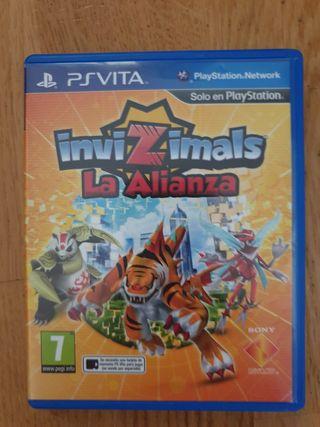 PS Vita - Invizimals La Alianza