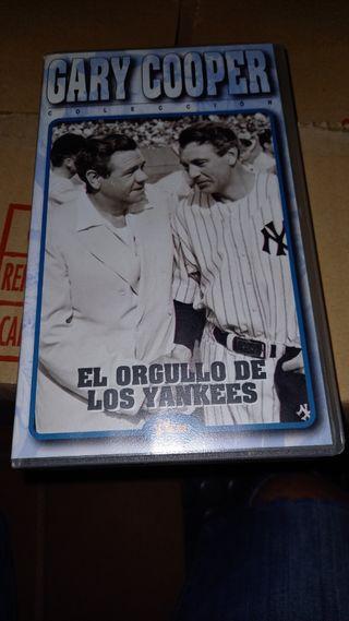 VHS el orgullo de los yankees