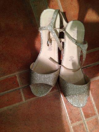 Cuñas/Zapatos/sandalias