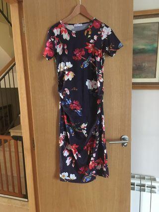 Vestido embarazada flores