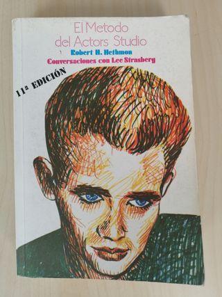 libro para el actor del Método Actors Studio.