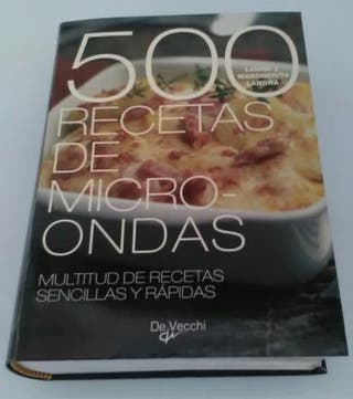 500 recetas para microondas