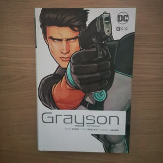 Tomo cómic integral Grayson (Batman)