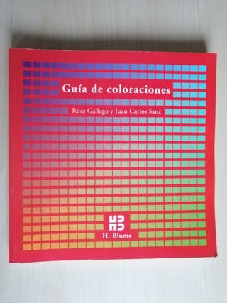 """Libro diseño """"Guía de coloraciones"""""""