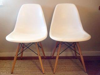 Sillas diseño Eames