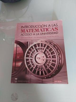 Libro acceso uni,mayores 25, matematicas