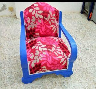 sillónes antiguos restaurados
