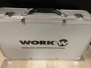 Micrófonos inalámbricos de solapa Work wr404