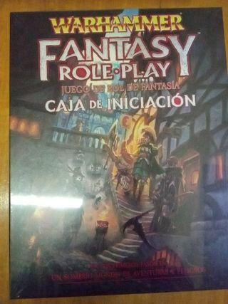 caja de inicio Warhammer fantasy. rol