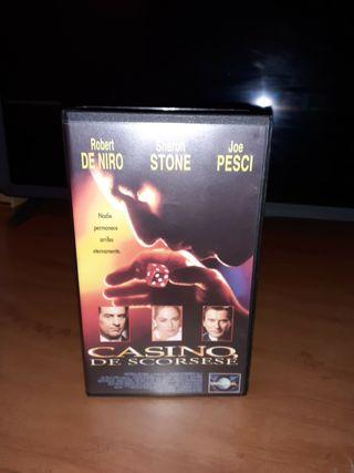 Pack pelicula Casino VHS