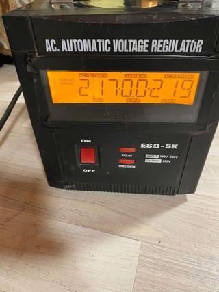 Estabilizador de voltage Work Esd5k