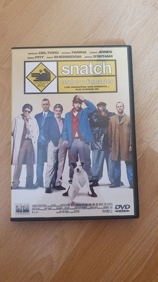 DVD Snatch. Cerdos y diamantes