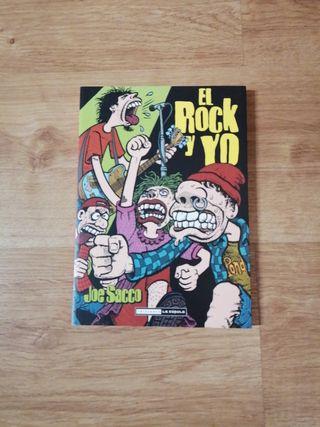 Cómic El Rock y Yo