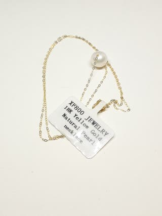 XF800 Fine Jewelry 18k Yellow Gold Pendant