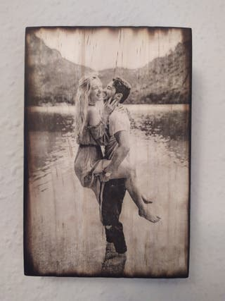 Retratos en madera