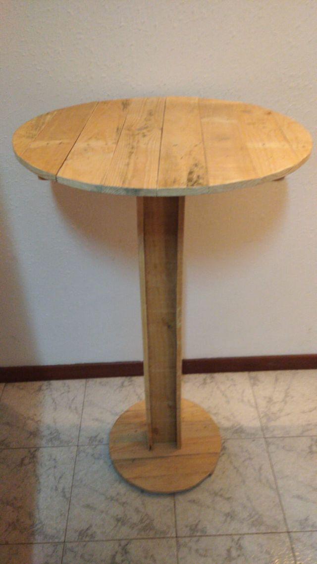 mesa redonda alta