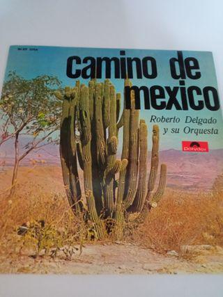 LP vinilo camino de México