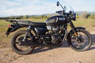 Moto Triumph Bonneville T100 Black A2