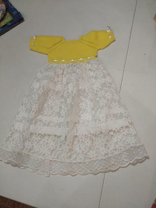 vestido artesanal reborn