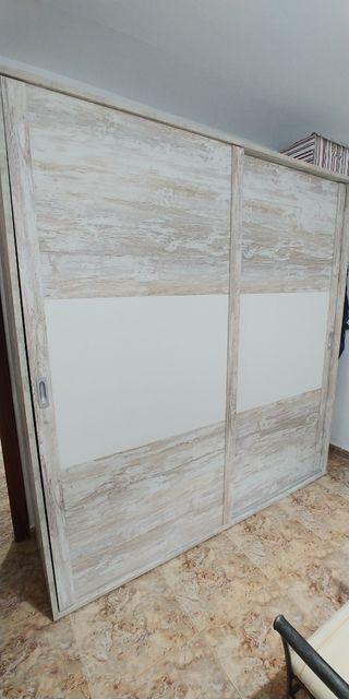 Armario dormitorio dos puertas
