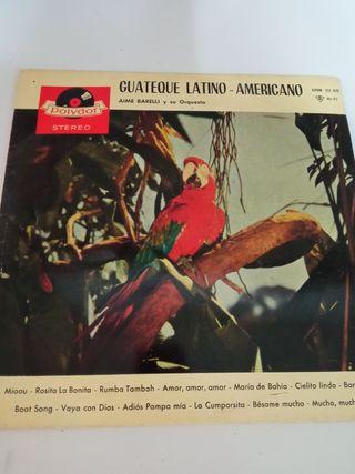 LP VINILO guateque latino