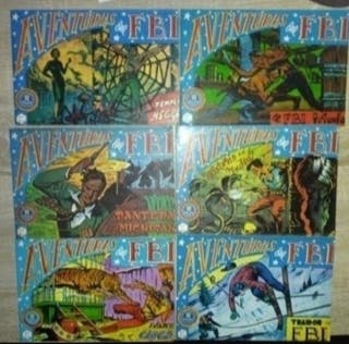 lote comics aventuras del FBI