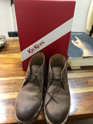 Botínes Kickers piel