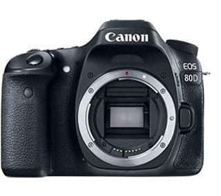 Cámara Réflex Canon 80D + objetivo 18-50 + 70-300