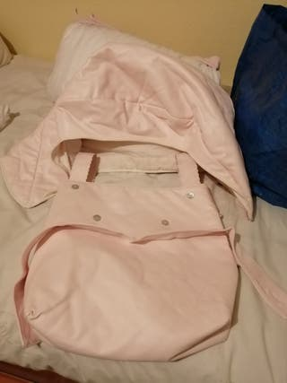 bolso y capota silla bebe