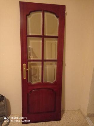 puerta viselada
